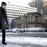 The Bank of Japan headquarters in Tokyo on Jan. 23. | BLOOMBERG
