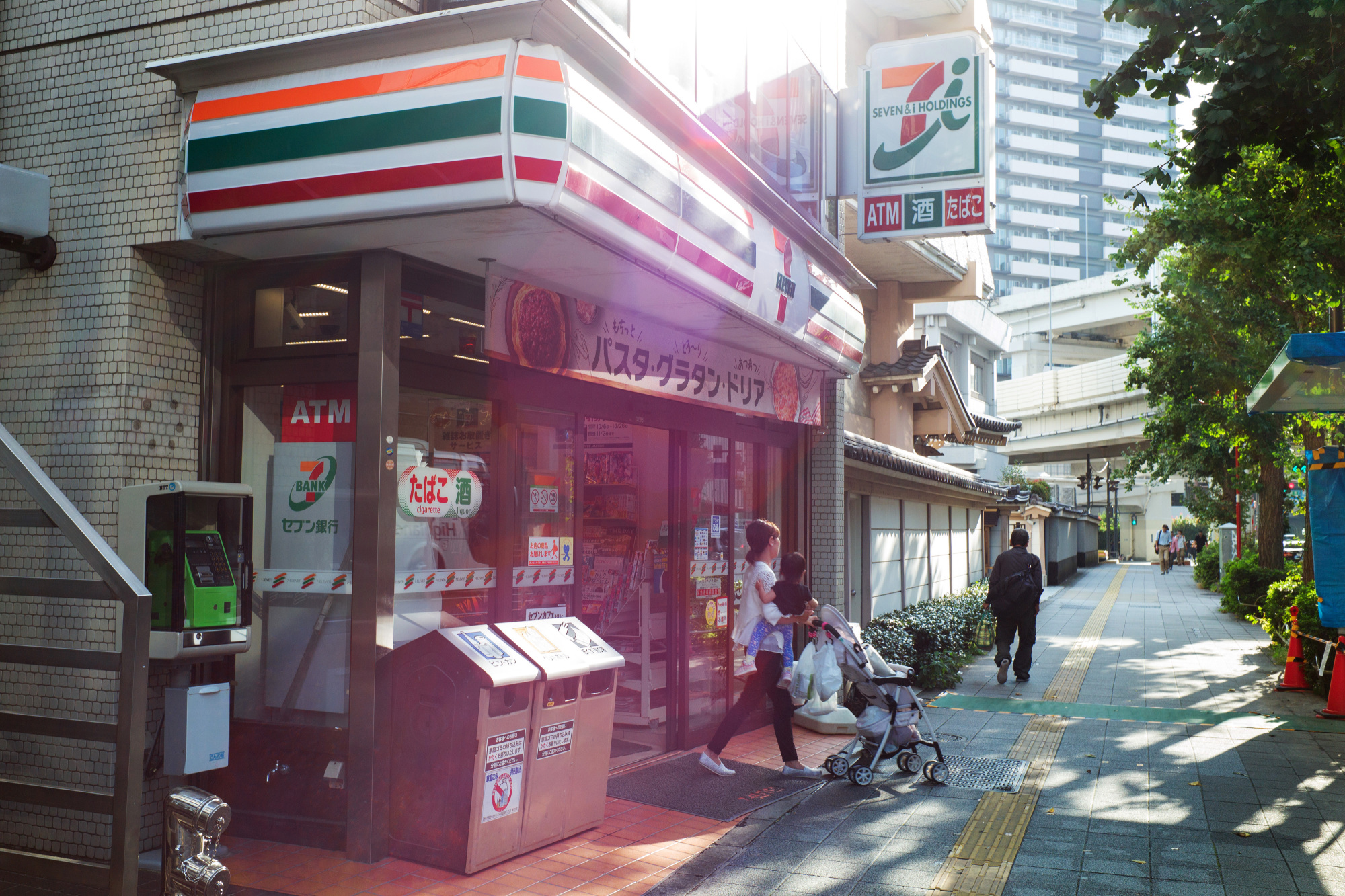 Convenience store sales across Japan took a 0.3 percent dip in 2017.   BLOOMBERG