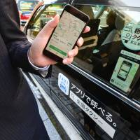 Tokyo taxi firms to take on global peers with ride-sharing apps