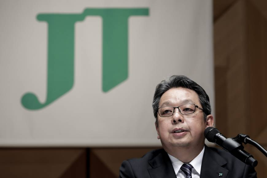 As people in Japan smoke less, Japan Tobacco's new CEO looks abroad for growth