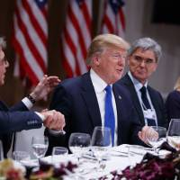 Trump poised to pitch 'America First' to skeptical Davos elite