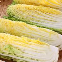 Prices for vegetables including these Chinese cabbage are surging because of damage caused last year by typhoons and cold weather. | GETTY IMAGES