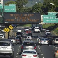 U.S. official defends early-warning systems after Hawaii 'failure'