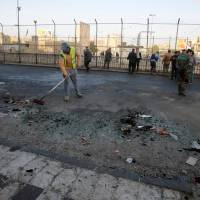 Islamic State sleeper cells suspected as twin suicide blasts kill 31 in bustling Baghdad square