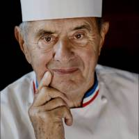 French chef Paul Bocuse poses in Amsterdamon Sept. 18, 2008. Bocuse died at the age of 91 on Saturday, according to French Interior Minister Gerard Collomb. | AFP-JIJI