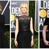 Hollywood stars at Golden Globes declare war on sexual misconduct