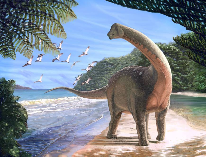 Egyptian dinosaur discovery fires up paleontology world, shows ties to Europe