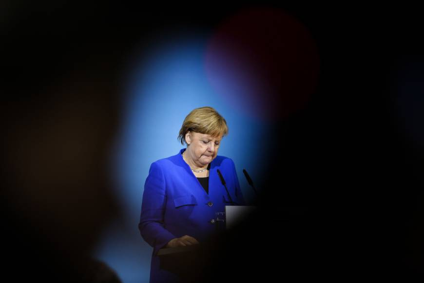Merkel risks leading weak coalition of 'losers' for Germany, analysts say