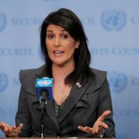 Nikki Haley | REUTERS