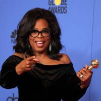 Oprah Winfrey nails it in Globes speech, says 'time is up' for abusive men