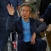 Freeing of Fujimori in Peru was partly aimed at boosting presidential prospects of his son, source says