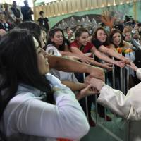 More Chile churches torched as visiting pope begs forgiveness for 'irreparable harm' from sex abuse