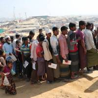 Bangladesh vows to coordinate with UNHCR on 'voluntary' return of 750,000 Rohingya to Myanmar