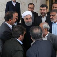 Iranian leader Hassan Rouhani has more to lose than the clerics in nationwide protests