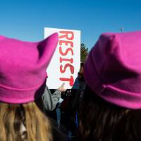 In Women's March finale, Las Vegas rally kicks off 'Power to the Polls' voter drive