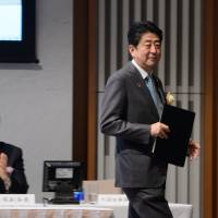 In New Year's message, Abe pledges future-focused welfare reform this year