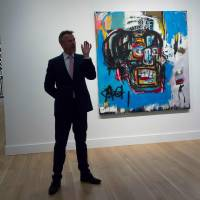 Japanese tycoon loans 1982 Basquiat masterpiece to Brooklyn for its museum debut