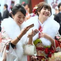 Booze alert as young Japanese come of age
