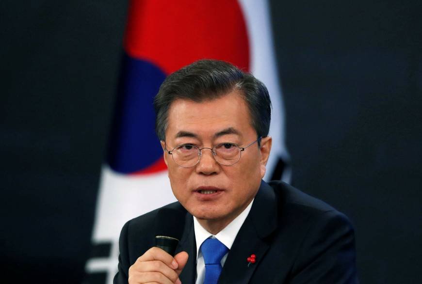 South Korea leader Moon calls 2015 'comfort women' deal 'undeniable,' but says Japan must still offer apology