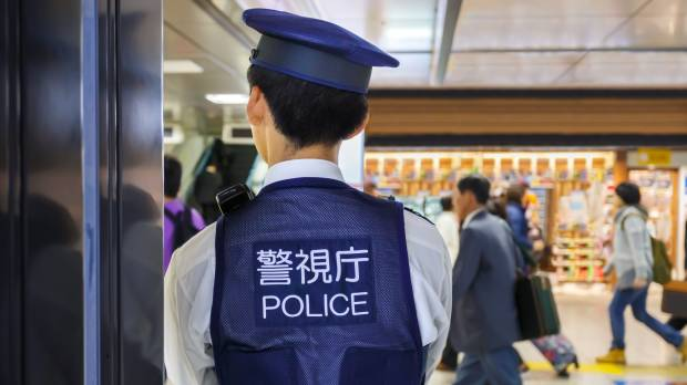Japan's crime rate hits record low as number of thefts plummets