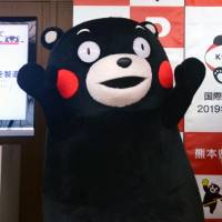 Drive to push Kumamon mascot imagery overseas hits snag in Japan over usage fees