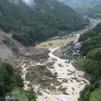 Nearly 1,300 live in makeshift housing six months after Kyushu deluge