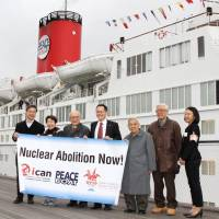 Peace Boat leaves for anti-nuke tour of Asia and Oceania