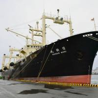 Japan seeks upgrades to whaling 'mother ship' in latest signal that hunts will continue