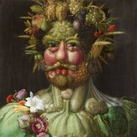 'The Emperor Rudolf II as Vertumnus' by Giuseppe Arcimboldo (1591)