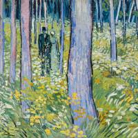 Vincent Van Gogh's 'Undergrowth with Two Figures' (1890) | CINCINNATI ART MUSEUM, BEQUEST OF MARY E. JOHNSTON