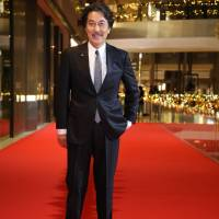 Big arrival: Actor Koji Yakusho walks the red carpet at the Silver Screen Awards section of the Singapore International Film Festival in December. | COURTESY OF THE SINGAPORE INTERNATIONAL FILM FESTIVAL