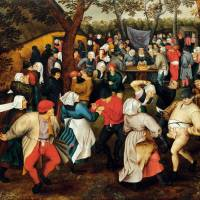 Pieter Brueghel the Younger's 'The Outdoor Wedding Dance' (c. 1610) | PRIVATE COLLECTION