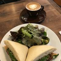 Casual affair: Morning Glass Coffee has an excellent array of sandwiches, burritos, pancakes and burgers. | J. J. O'DONOGHUE