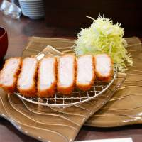 Getting piggy with it: Epais is all about the tonkatsu — deep-fried, breaded pork cutlets. | J. J. O'DONOGHUE