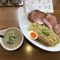 Pork belly: Generous slabs of chāshū accompany tsukemen. | J. J. O'DONOGHUE