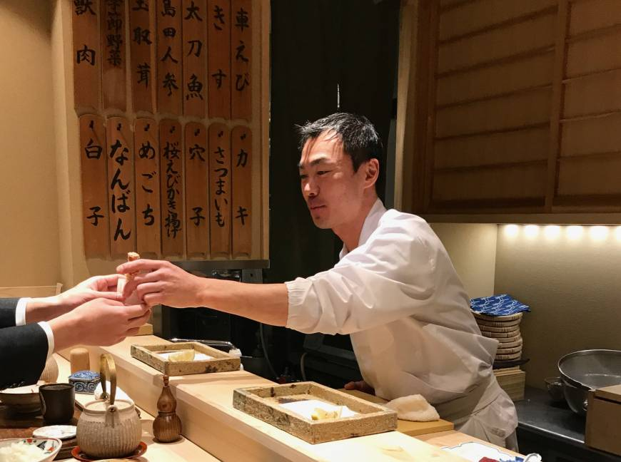 Sonoji: Ningyocho tempura chef has noodle-making in his DNA