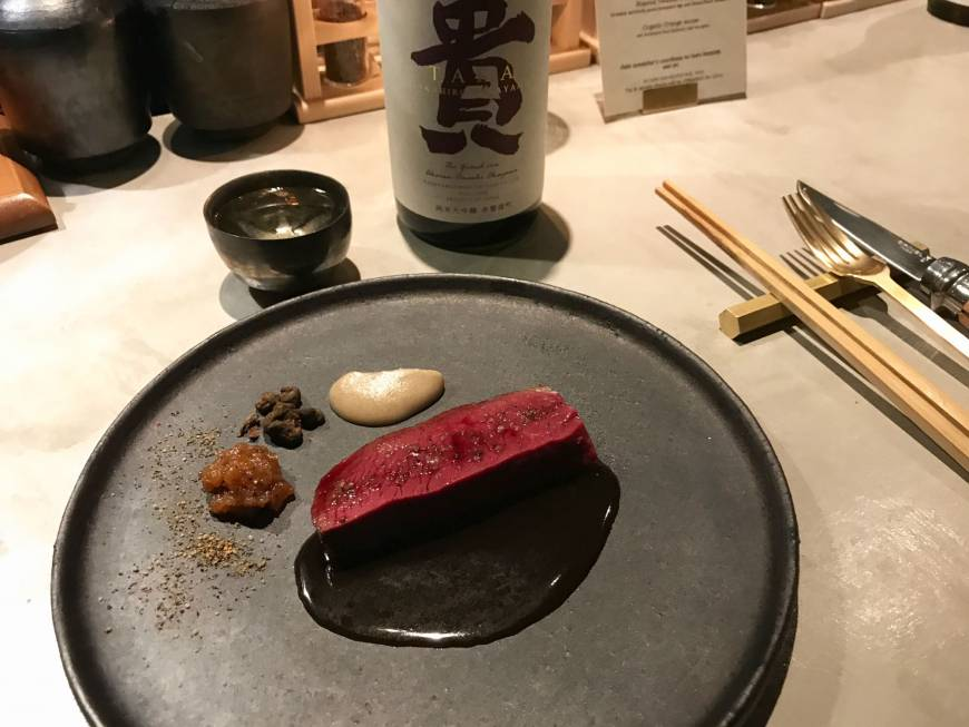The Hangar: A triumphant pairing of food, sake and techno in Tokyo