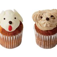 Fairycake Fair's Mocha-chan and Milky-chan: Dog-shaped cupcakes worth picking up while you can