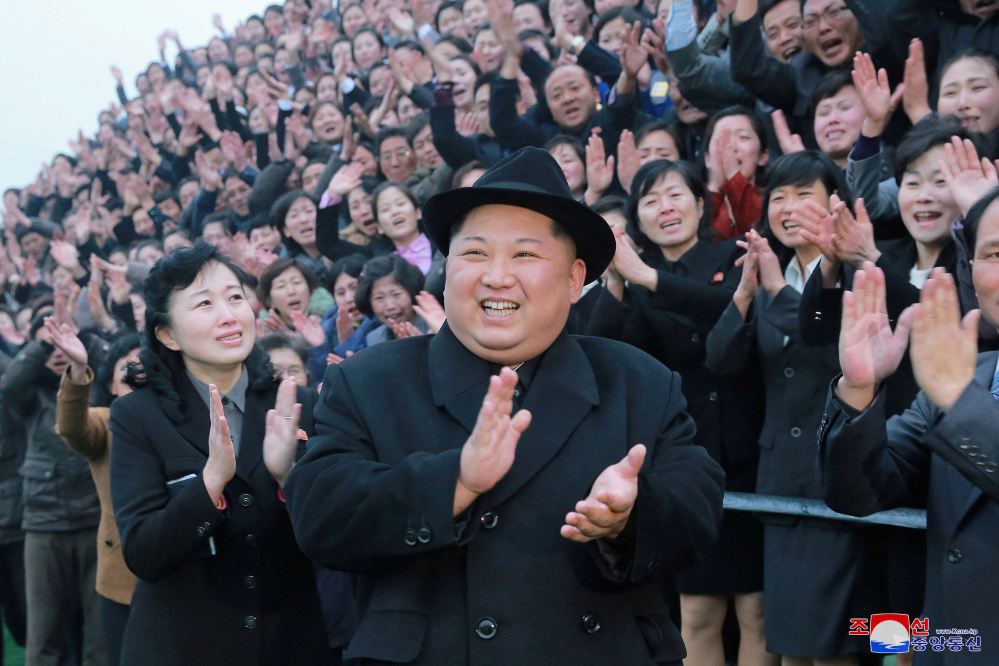 If you're happy and you know it, clap your hands: North Korean leader Kim Jong Un is generally regarded as sane. | REUTERS