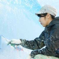 Mural painter can't relax in bathhouses