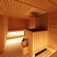 Capsule hotel provides sauna and nap options