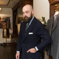 'To look good, you need to look masculine,' says Ethan Newton of Bryceland's Tailors in Tokyo