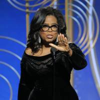Oprah Winfrey galvanizes the Golden Globes awards ceremony last Sunday with a call to arms against sexual harassment. | AP