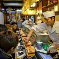 Tsukiji fish market: Old schooling for kids