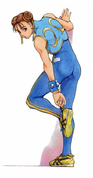 Chun Li of Capcom's
