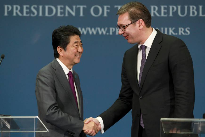 Japan, China and the western Balkans