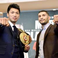 Ryota Murata announces first defense of WBA world middleweight title against Italian Emanuele Blandamura