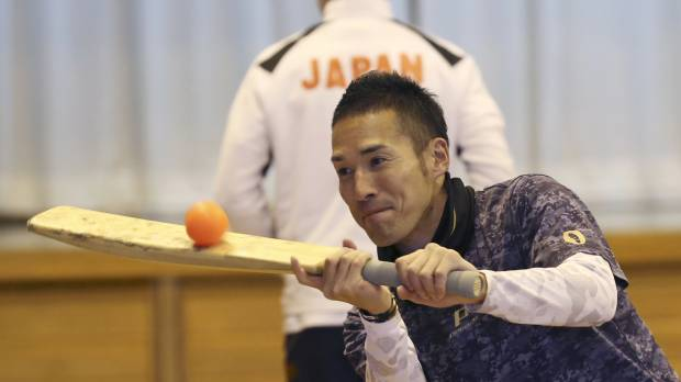 Former professional baseball player Shogo Kimura sets sights on cricket career