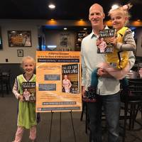 Author Tyler Smith, a former pro basketball player in Japan during the JBL era, is making the rounds promoting his new book. | TYLER SMITH