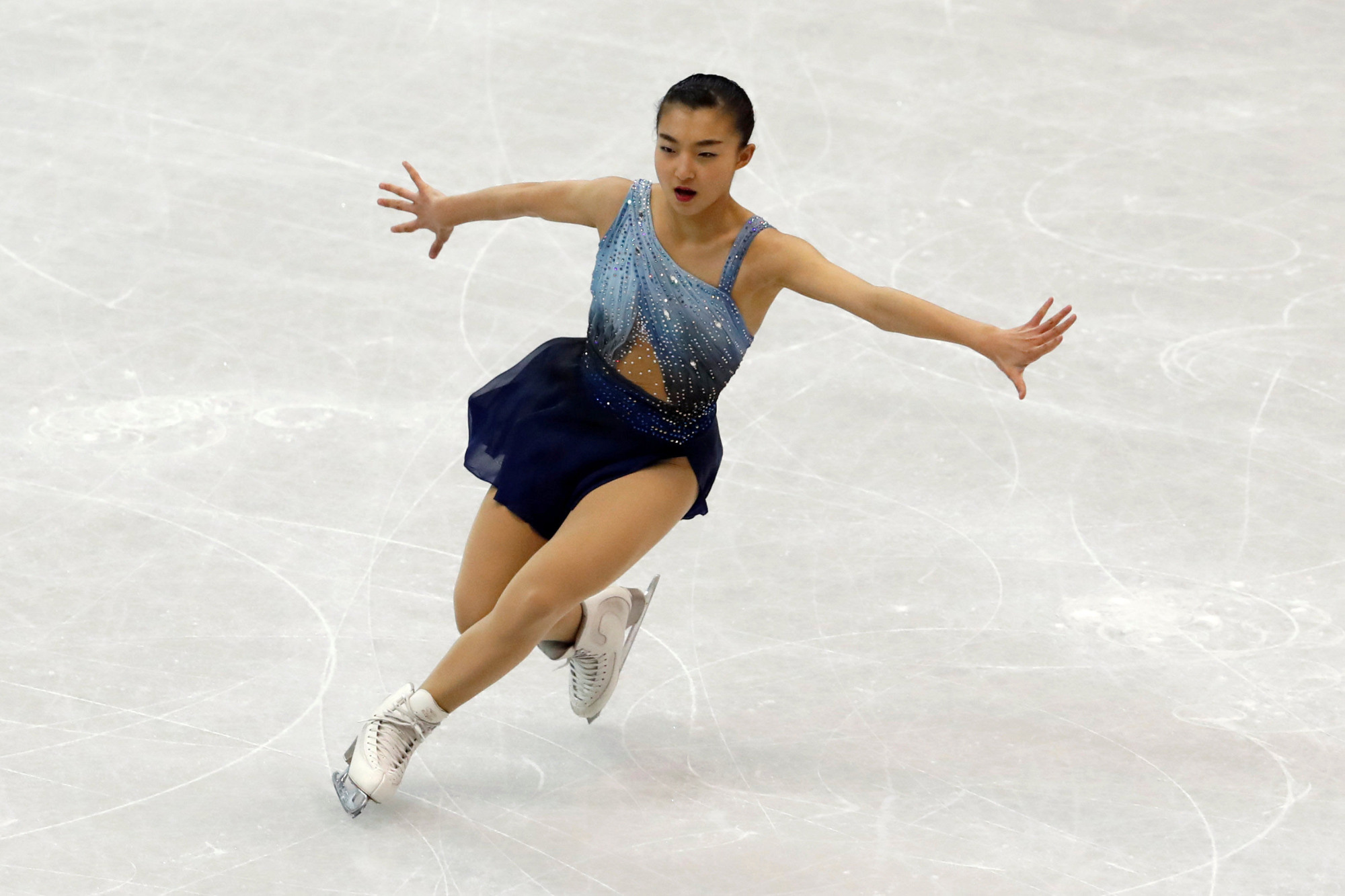 Kaori Sakamoto's meteoric rise continued over the weekend as she won her first major senior international title at the Four Continents Championships in Taipei.   REUTERS